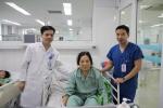 Thành công ca can thiệp lấy huyết khối mạch não bằng dụng cụ cơ học
