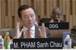 Đại sứ Phạm Sanh Châu trả lời phỏng vấn cho vị trí Tổng Giám đốc UNESCO