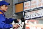 Giá xăng không tăng trước Tết