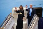 Hình ảnh mới nhất trong lần đầu Tổng thống Trump công du nước ngoài