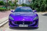 Ngắm Maserati GranTurismo độ MC Stradale màu tím ở Sài Gòn