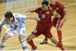 Tuyển Futsal Việt Nam thua tiếc nuối trước Argentina