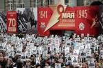 'Trung đoàn bất diệt Nga' tuần hành trên Quảng trường Đỏ