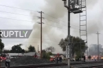 Mỹ: Máy bay lao xuống khu dân cư, nhiều nhà dân bốc cháy ngùn ngụt