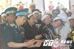 Nghẹn ngào nước mắt trong lễ viếng phi công Trần Quang Khải