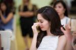 Hoa hậu Đặng Thu Thảo bật khóc vì thí sinh Hoa hậu Việt Nam