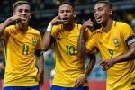 Naymar 'tịt ngòi', Brazil vẫn dễ dàng đánh bại Peru