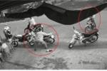 Trộm bày binh bố trận, bẻ khóa ăn cắp xe máy nhanh như chớp