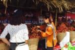Vải thiều Bắc Giang 'tấn công' thị trường Hà Nội
