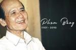 Tang lễ nghệ sĩ Phạm Bằng được tổ chức vào trưa nay (4/11)