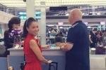 Thu Minh tiễn chồng đi công tác giữa bão scandal trốn nợ hàng trăm tỷ đồng