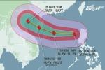 Chiều nay, bão số 7 Sarika tăng cấp khi đi vào vùng biển Hoàng Sa
