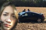 Ca sĩ Pha Lê bị tai nạn xe hơi ở Mỹ