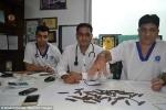 Sốc với ca phẫu thuật gắp 40 con dao từ dạ dày bệnh nhân nghiện 'dao kéo'