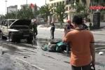 Clip: Xác định danh tính hành khách nghi ôm mìn tự sát trên taxi