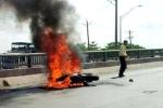 Nạn nhân bỏng nặng khi lái mô tô bạc tỷ bỗng dưng bốc cháy ngùn ngụt
