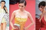 Loạt scandal lộ hàng của Phạm Băng Băng, Dương Mịch... trên thảm đỏ Cannes