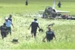 Máy bay L39 rơi khi đang huấn luyện tại Phú Yên