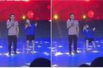 Đang dẫn chương trình, nữ MC đột ngột ngã ngửa trên sân khấu