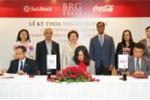 Tập đoàn BRG, SeABank và Coca-Cola Việt Nam ký thỏa thuận hợp tác toàn diện