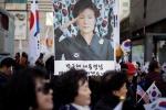 Hàng nghìn người biểu tình đòi thả bà Park Geun-Hye