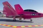 Chiến cơ Mỹ từng tham chiến ở Việt Nam được sơn hồng để kêu gọi chống ung thư vú