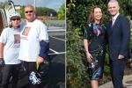 Cặp đôi giảm 70 kg sau 8 tháng ăn kiêng và tập luyện