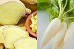 'Thần dược' tốt hơn cả sâm: Tối ngủ ăn củ cải, sáng dậy ăn gừng