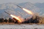 Triều Tiên bắn đi 4 tên lửa tầm ngắn