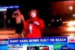 Những khoảnh khắc khó đỡ của phóng viên thời tiết