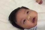 Clip: Cách dỗ trẻ ngủ tròng vòng 40 giây gây sốt