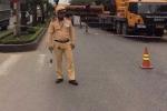 CSGT Hà Tĩnh chặn đường để 'đại gia' dựng nhà