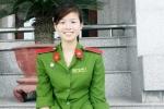 Nữ thủ khoa cảnh sát xinh đẹp đa tài