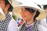 Nữ sinh xinh đẹp trên tàu Thanh niên Đông Nam Á