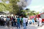 Cháy nổ ở trường ĐH Công nghệ Đồng Nai, sinh viên hốt hoảng tháo chạy