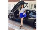 Soi siêu xe BMW i8 mới của người yêu Midu