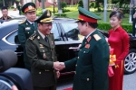 Thượng tướng Ngô Xuân Lịch tiếp Đại tướng của Campuchia