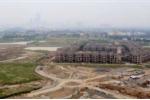 Chùm ảnh: Mục sở thị khu biệt thự hàng trăm tỷ đồng cho cán bộ cao cấp hoang lạnh ở thủ đô