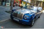 Chi tiết siêu xe mui trần Rolls-Royce Drophead Coupe ở Sài Gòn