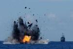 Lén lút đánh cá trộm, tàu Trung Quốc bị bắn chìm