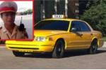 CSGT bắt lỗi trang phục tài xế taxi gây xôn xao