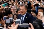 Ông Moon Jae-in thắng áp đảo trong bầu Tổng thống Hàn Quốc