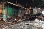 Cháy nổ lớn cây xăng ở TP.HCM: 2 nhân viên bỏng nặng, hàng chục xe máy bị thiêu rụi