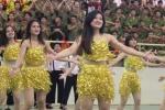 Nữ sinh Học viện An ninh khoe vũ điệu bốc lửa trên nền nhạc sôi động