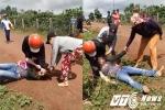 Vợ phó công an xã tham gia đánh ghen dã man ở Gia Lai