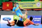 Sanna Khánh Hòa thắng trận đầu tiên tại giải Futsal CLB Đông Nam Á 2017