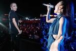Thu Minh mang hit Hà Hồ lên sân khấu