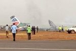 Máy bay chở 44 người rơi ở Nam Sudan