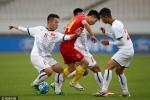 U22 Trung Quốc bị cầm hòa, U22 Việt Nam sáng cửa vô địch