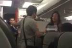Cấm bay 1 năm nữ hành khách la hét, gây gổ trên máy bay